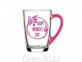KUBEK ALA 300ML HAPPY WOMEN`S DAY RÓŻ
